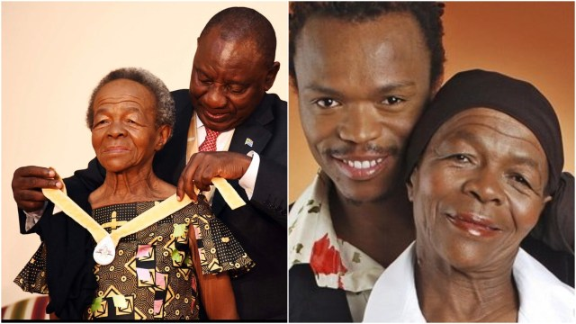 Mary Twala Somizi's Mother reveals shocking secret about her son that will shock you,