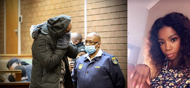 Muzikayise Malephaneis accused of stabbing the 28-year-old mother to be and hanging her body from a tree in Durban Deep last month. Pule was eight months pregnant.