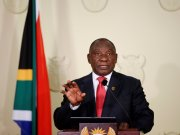 'This is a fight to save every life': Ramaphosa bans booze, enforces masks and announces curfew