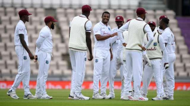 The West Indies had been on top for most of this match, with Holder taking a Test-best 6-42 after losing the toss.