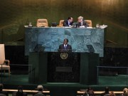 """this year, a part of Manhattan will not be sealed off for the """"UNGA""""; there will be no endless limousine convoys, and no busy beehive of diplomats, journalists and translators in the halls of the UN."""