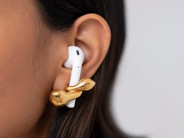 Having issues with AirPods' fit is relatively common because the tips are a plastic shell, rather than the rubber tips of the AirPods Pro and other wireless earbuds on the market.
