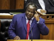 Tito Mboweni claps back at those asking him to get a wife to help him cook