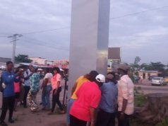 Mystery metal monolith 'appears in DR Congo'