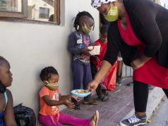 Working with love to feed hungry children in Imizamo Yethu