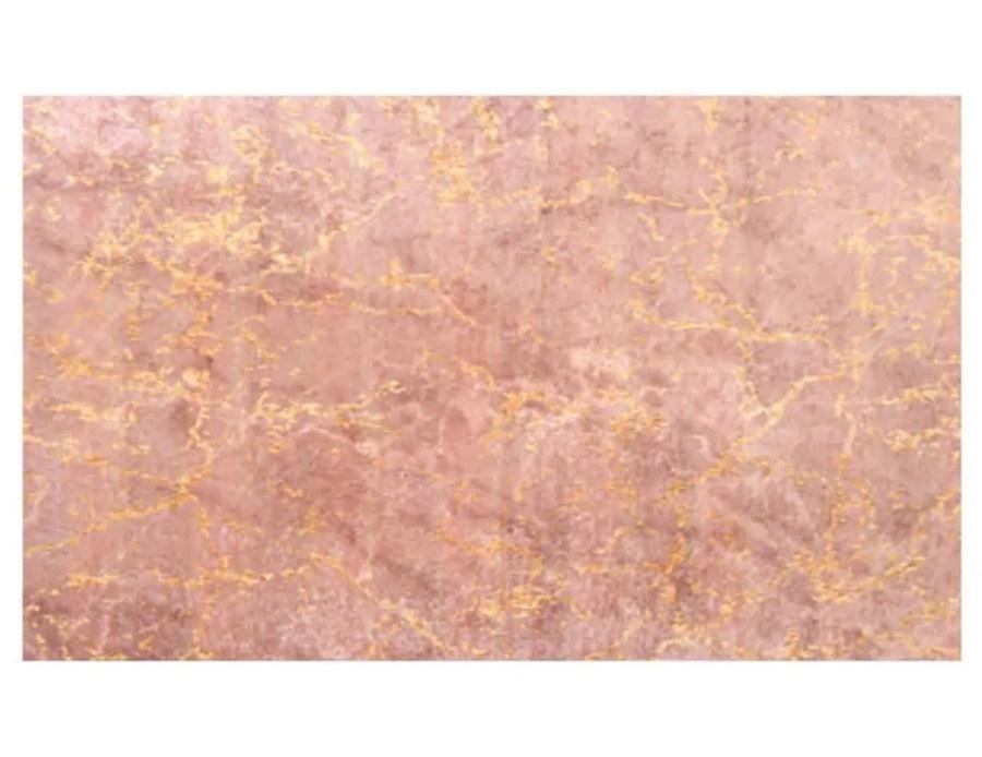 דקסון שטיח שיש מלבן ורוד פודרה
