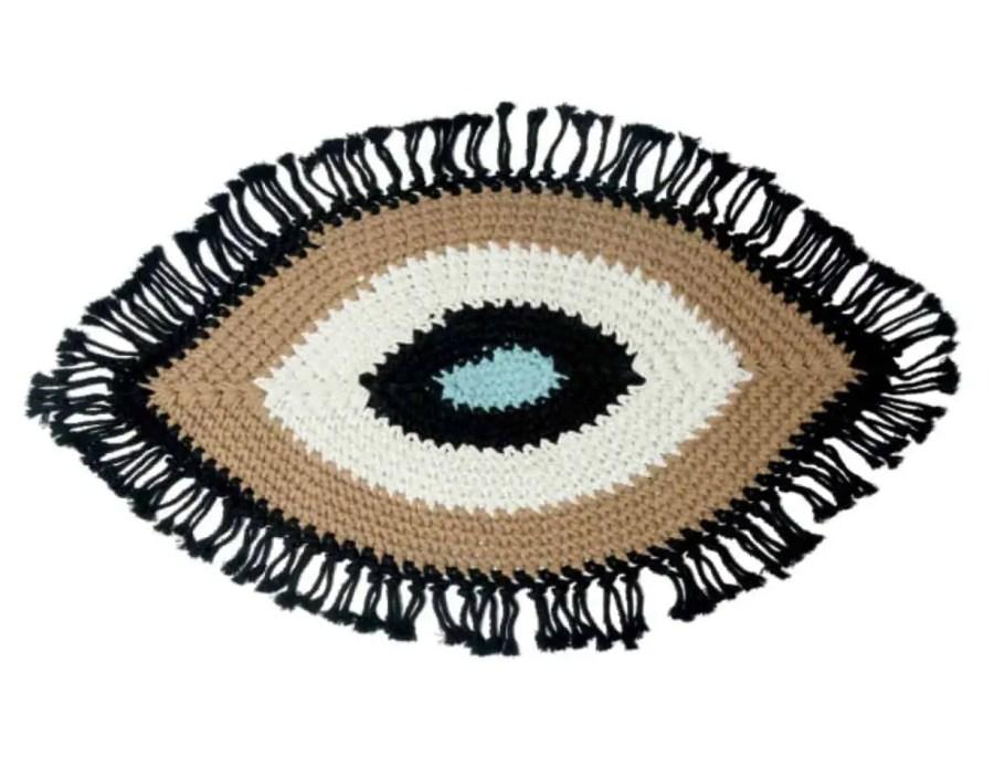 שטיח חמסה עבודת יד שחור