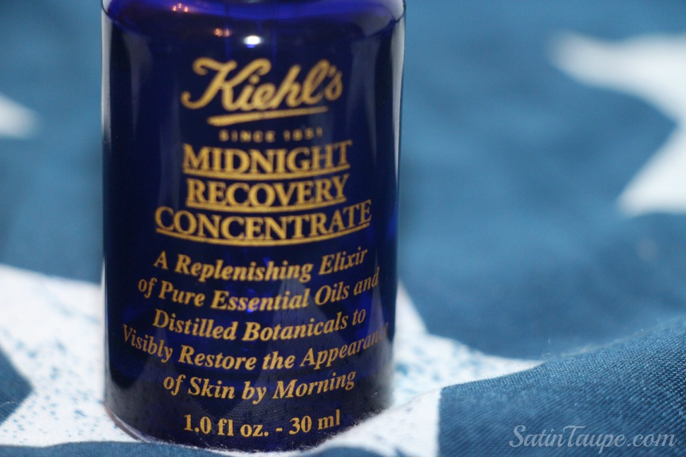 Khiel's midnight recovery concentrate