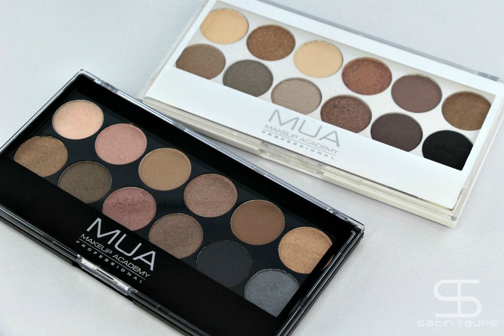 Undressed palette MUA