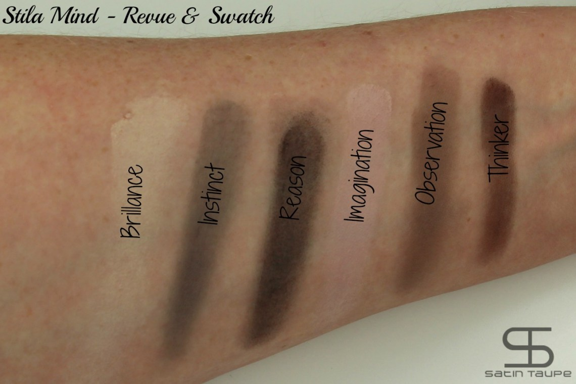 Stila Mind revue et swatch