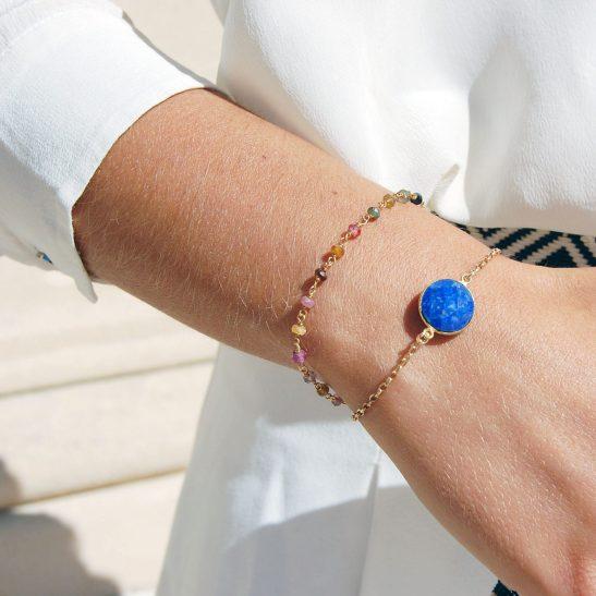 Bracelets Azur et Nix vermeil