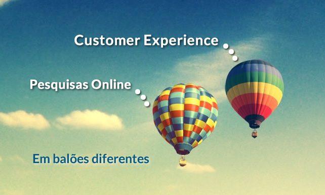 Quais são as diferenças entre Pesquisa Online e Customer Experience? foto 1