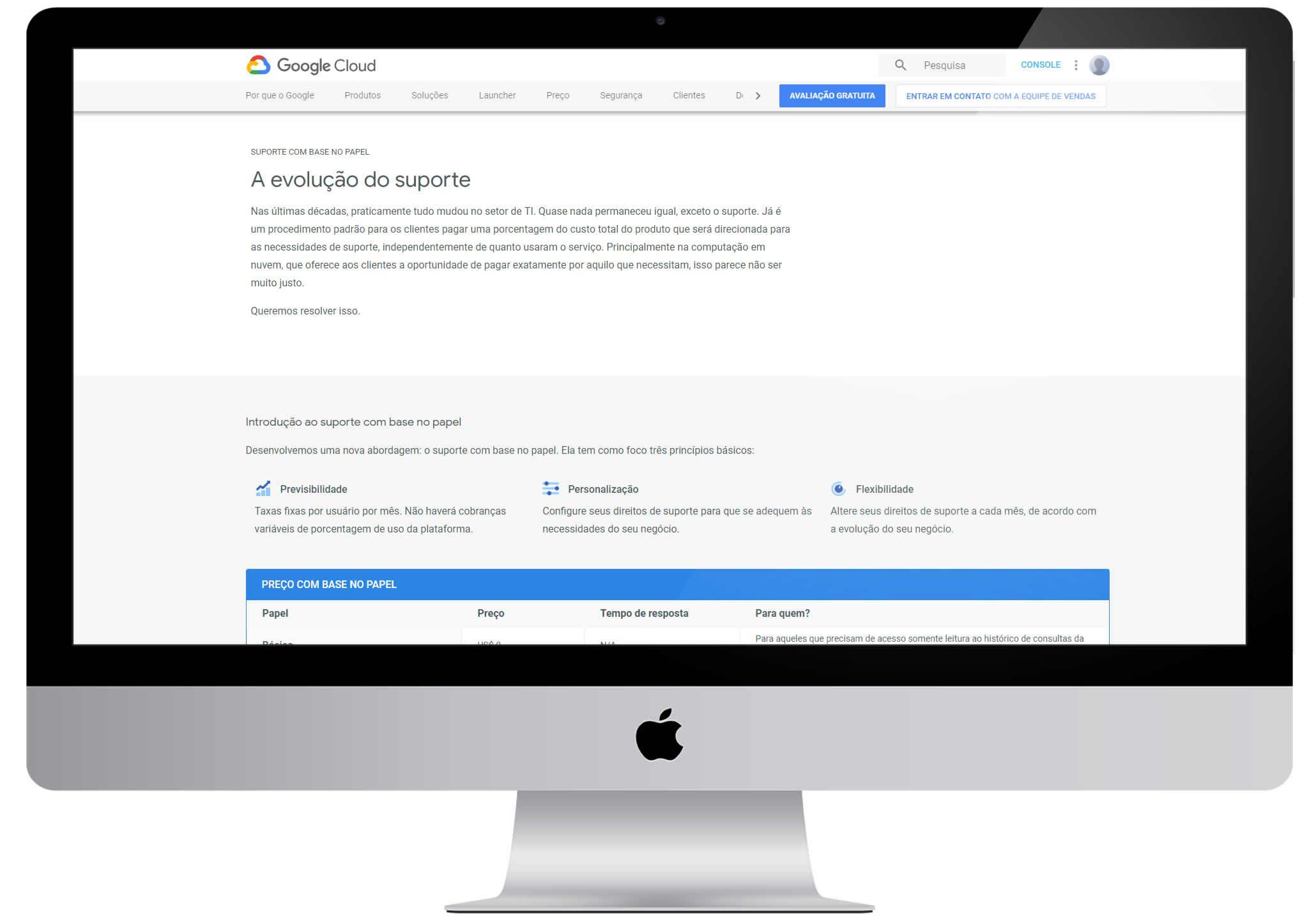 tempo de resposta - google cloud support - satisfação de clientes - tracksale