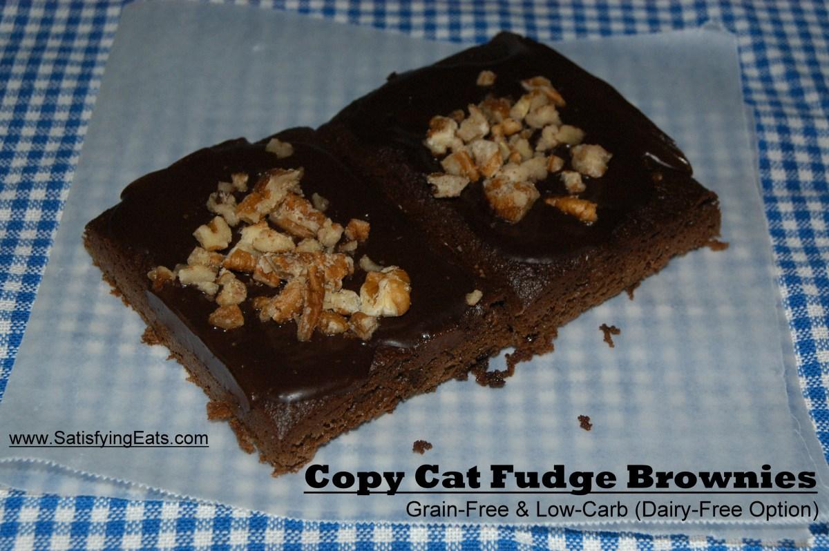 Copy Cat Little Debbie Brownies Grain Free Amp Low Carb