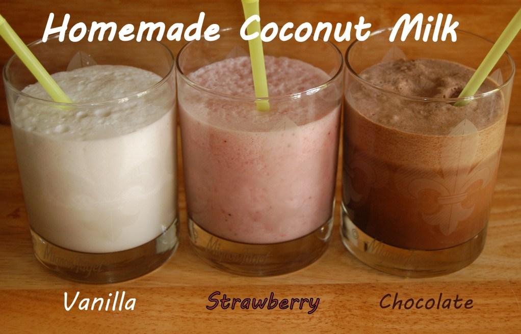 Flavored Coconut Milks