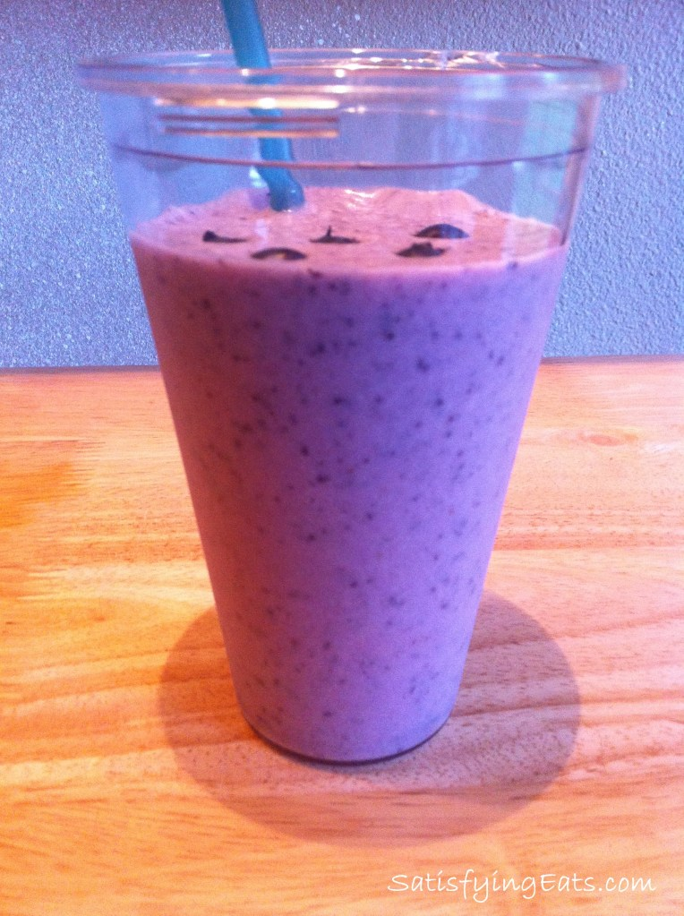 Blueberry Power Shake