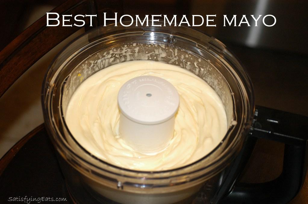 BEST Homemade Mayo (Updated: Magical 1-Minute Mason Jar Mayonnaise)