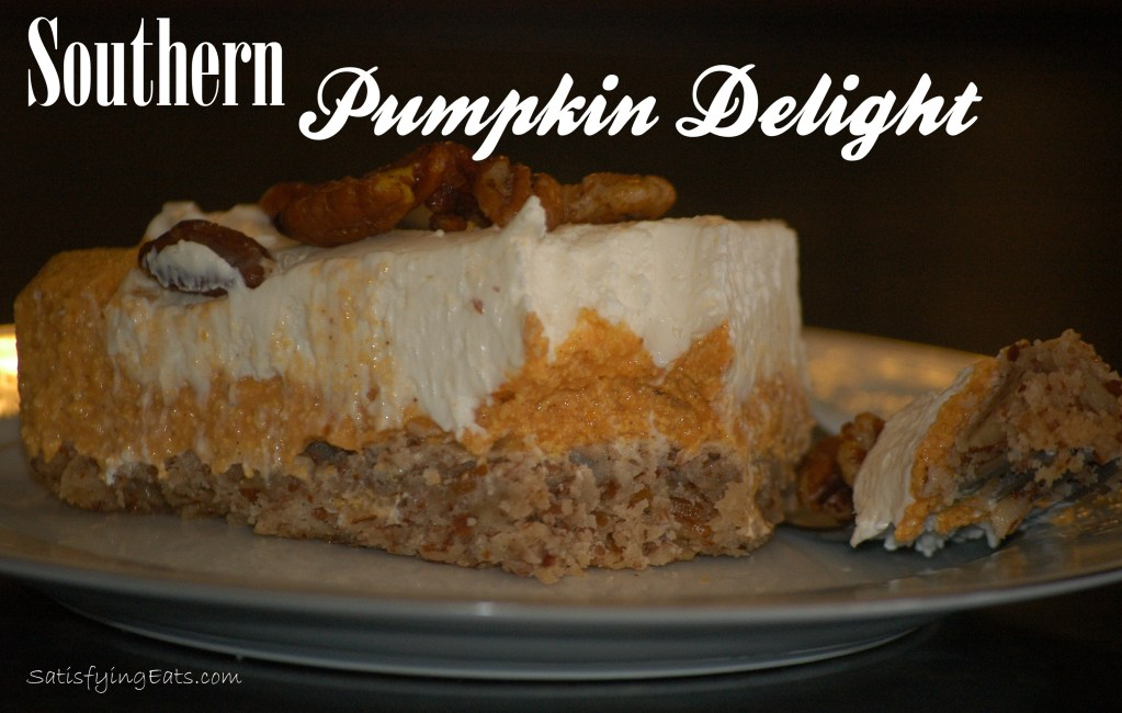"Southern Pumpkin Delight with ""Candied"" Pecans"