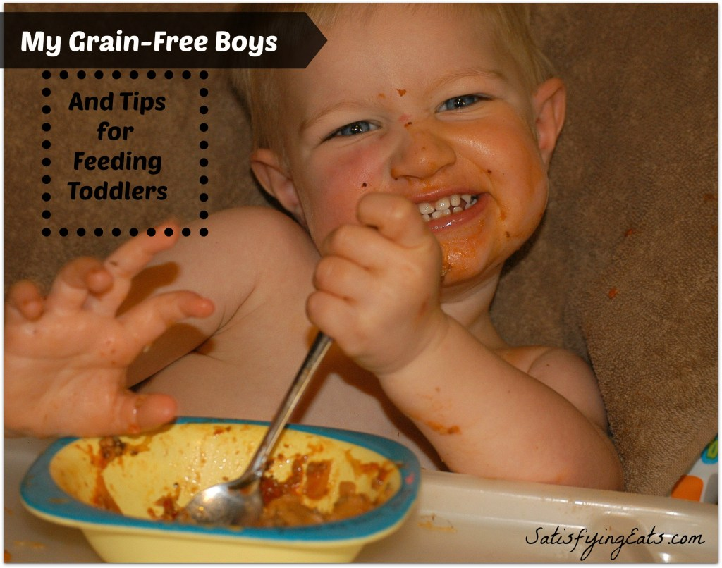 My Grain-Free Boys & Tips for Feeding Toddlers