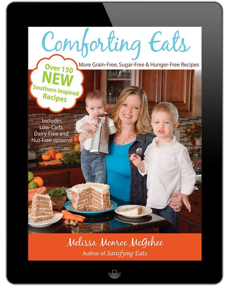 Announcing…Comforting Eats Cookbook NOW Available on Amazon!