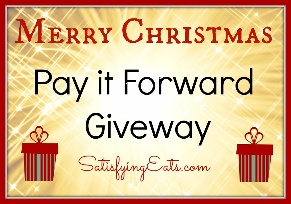 Merry Christmas & Pay it Forward Giveaway