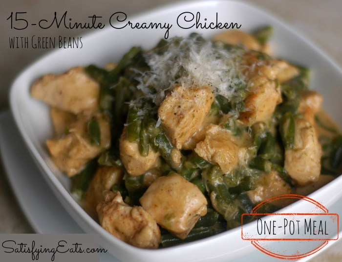 15-Minute Creamy Chicken