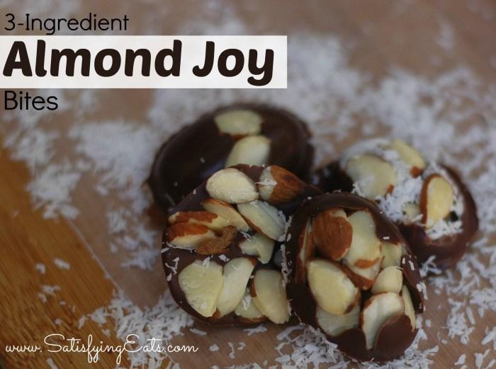 3-Ingredient Almond Joy