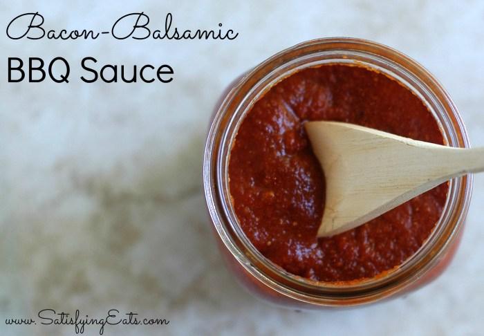 Bacon Balsamic BBQ Sauce