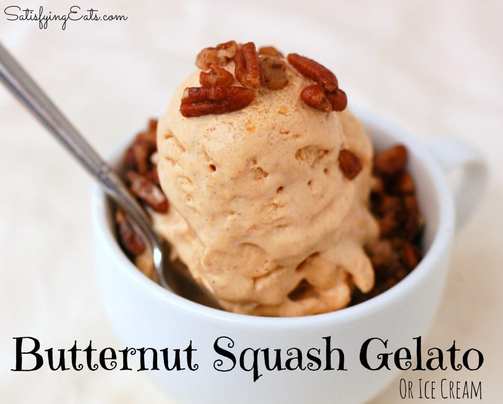 butternut squash gelato