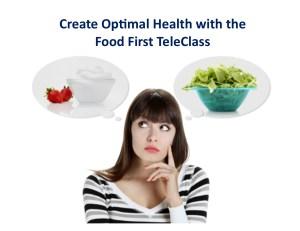 food first teleclass