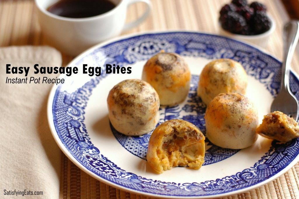Easy Sausage Egg Bites