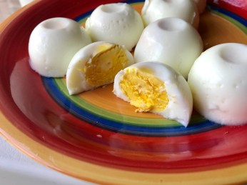 7. Perfect no-peel boiled eggs!