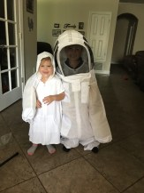 More bee suit fun. :)