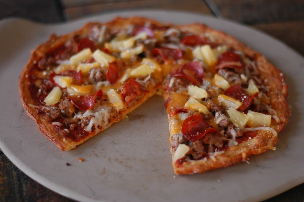 Family Size Fathead Pizza (regular or BBQ)