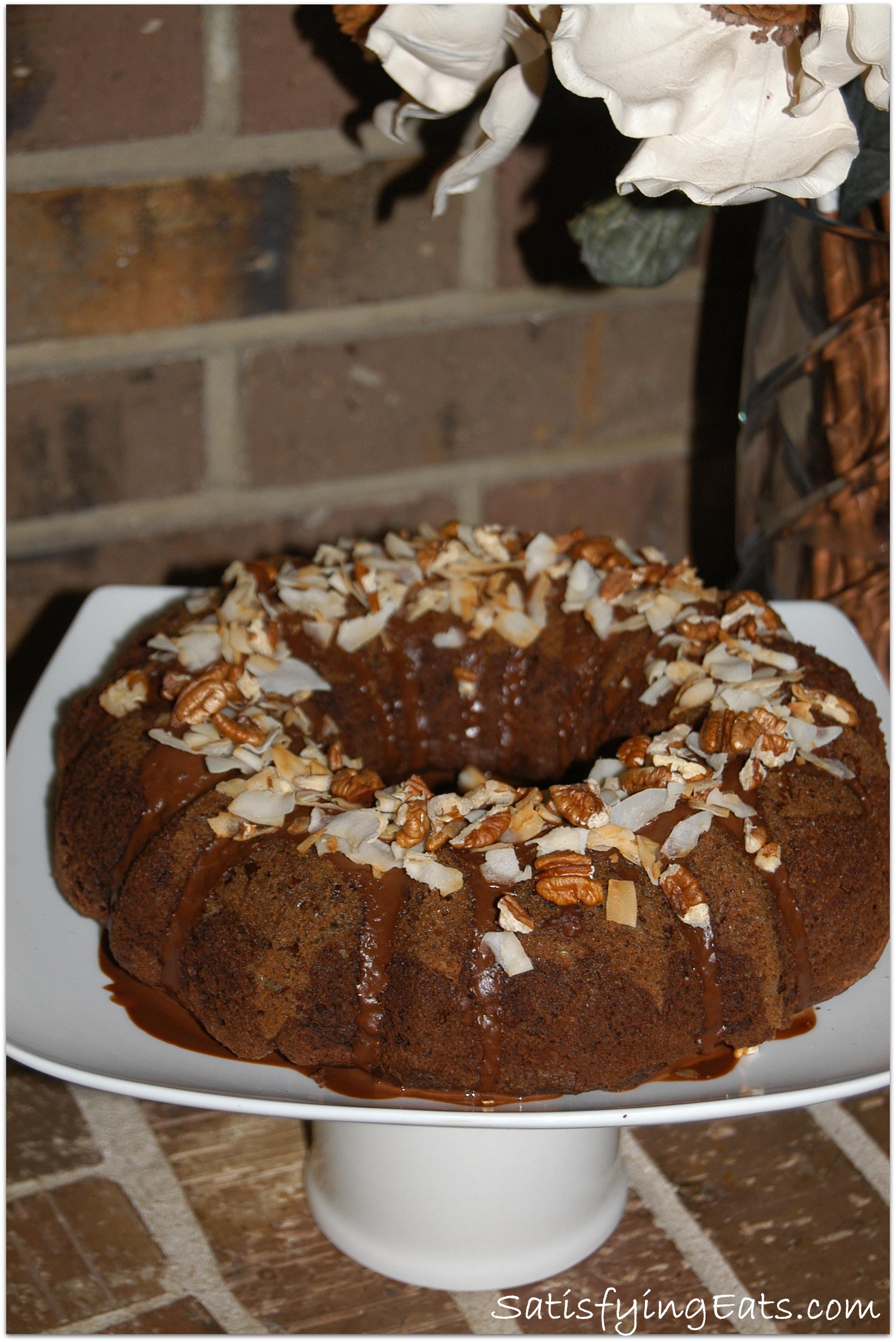 German Chocolate Cake Grain Free
