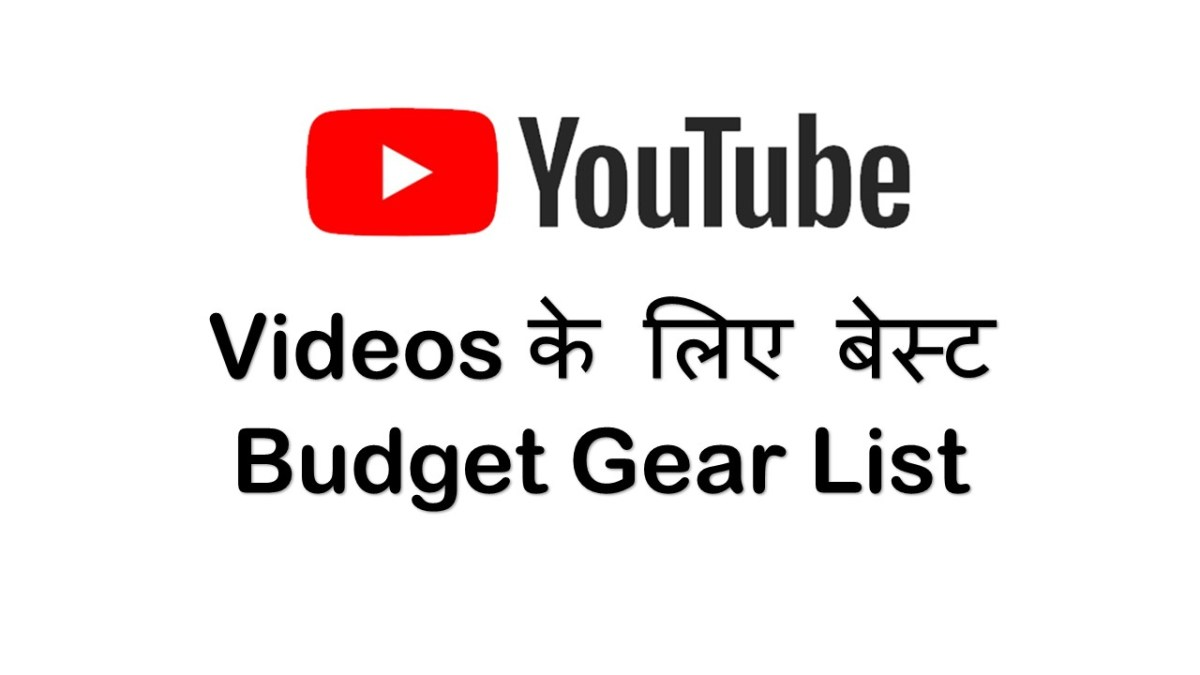 Best Budget Equipment to Start a YouTube Channel