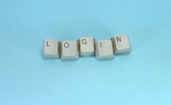 LOGIN in Tastaturtasten