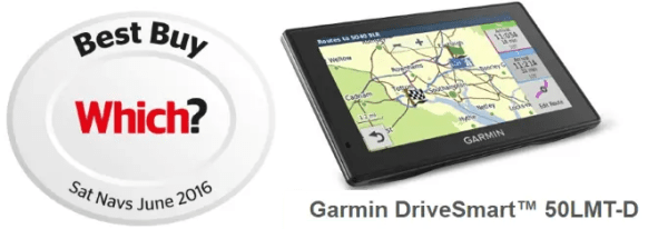 Garmin Drivesmart 50LMTD Voted Best Sat Nav