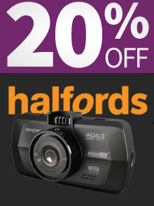 Halfords 20% Off Nextbase