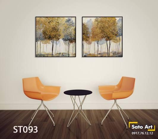 Bọ 2 tranh rừng cây vàng