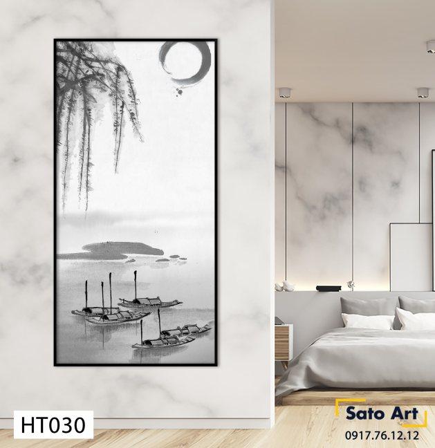 Tranh sơn dầu phong cảnh ở Huế