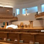 母校に礼拝堂が完成していた・・・の巻!
