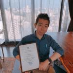 タイ現地法人、登記完了したよ!