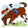 【落馬王】坂井瑠星、同じ馬で3度目の落馬達成【トリプル落】