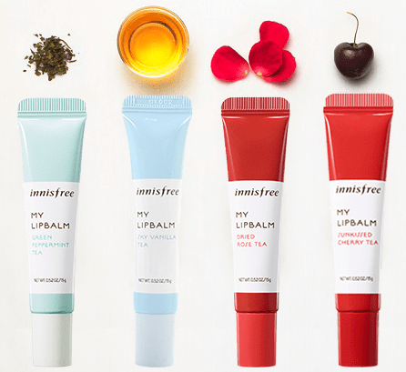 Innisfree My Lip Balm Four Flavors