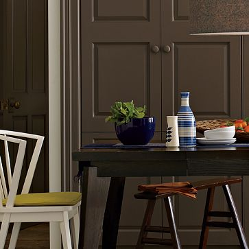 Fall Decorating Ideas - Dark Paint Colours - West Elm