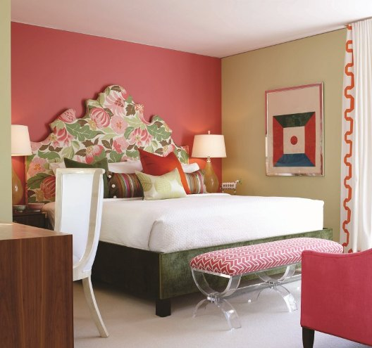 Colorful Bedroom Paint by Sarah Richardson