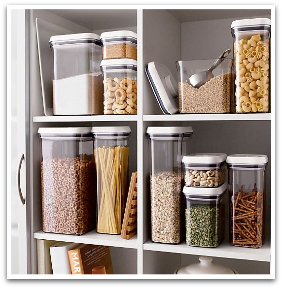 OXO Kitchen Storage Containers via Crate & Barrel