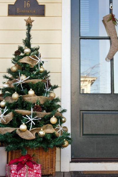Front Porch Christmas Tree - Layla Palmer - The Lettered Cottage