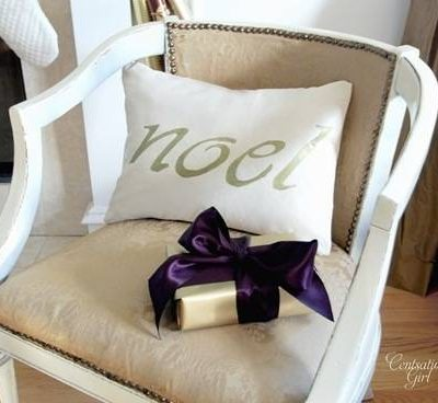 Noel Pillow by Centsational Girl